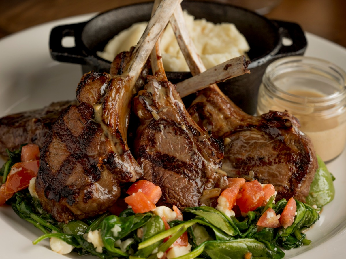 Australian Roasted Lamb Chops
